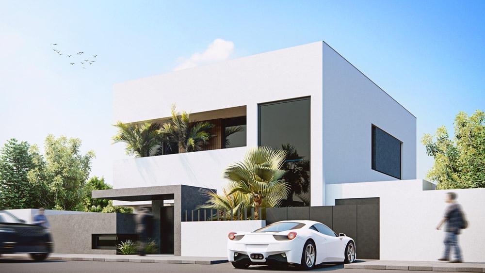 Villa Ahmed Vue 1