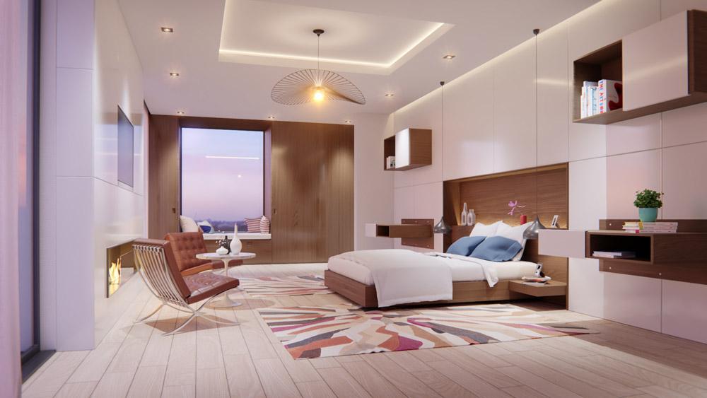 villa benla Master room