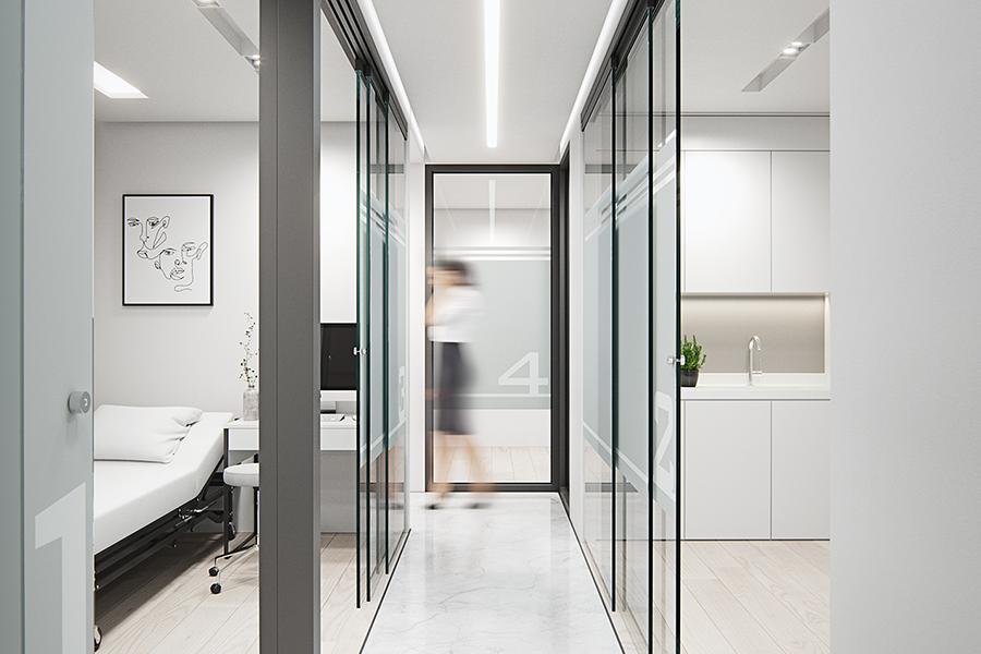 cabinets-Médicaux-Hattach-couloir